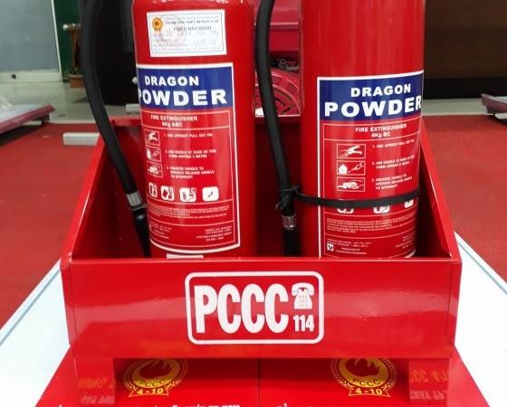 Bình chữa cháy bột giúp dập tắt các đám cháy phát sinh từ thể rắn, lỏng, khí