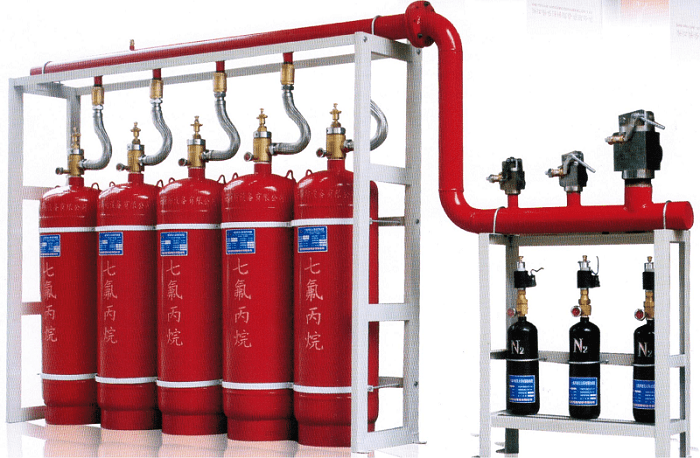 Hệ thống nạp khí nito cho bình chữa cháy