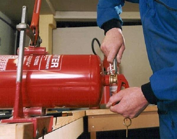 nạp sạc bình chữa cháy tại tphcm