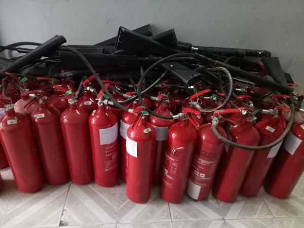 Thời gian nạp bình chữa cháy là bao lâu?