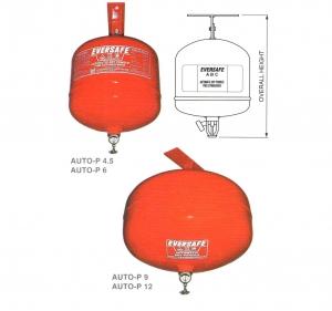 Nguyên lý bình cầu chữa cháy tự động 6kg