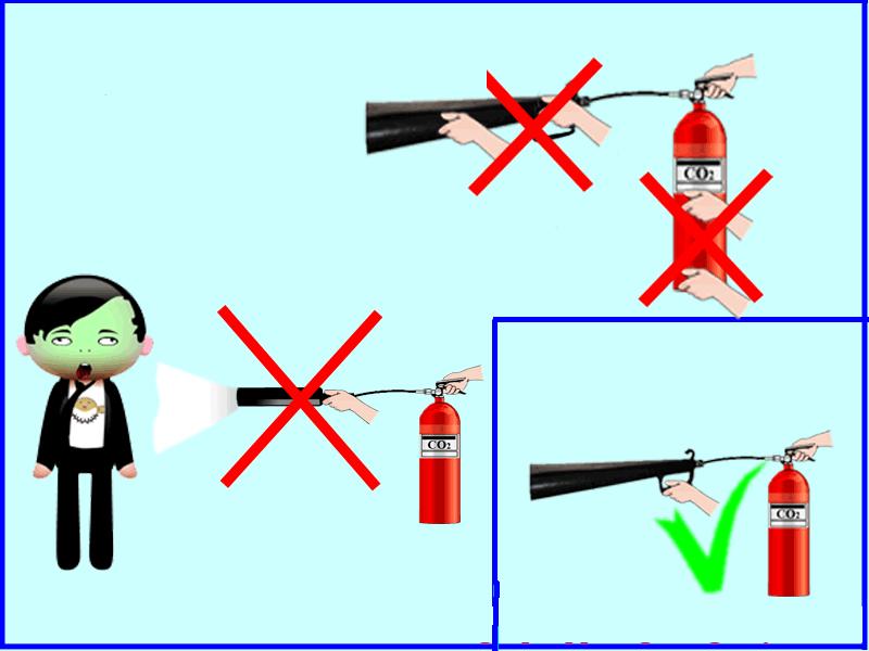 sử dụng bình chữa cháy an toàn