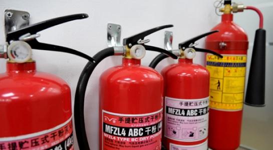 Khí dùng nạp cho các bình chữa cháy là các loại khí trơ N2 hoặc CO2