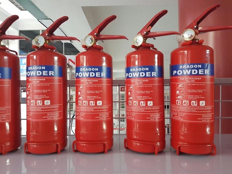 Nạp sạc bình chữa cháy bột ABC