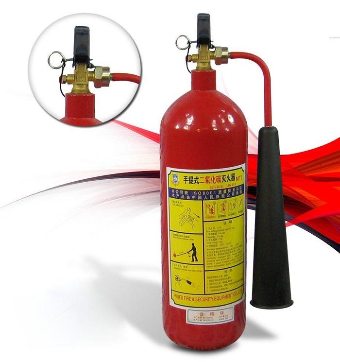 Nạp khí CO2 bình chữa cháy