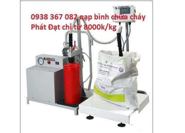 Dịch vụ nạp bình chữa cháy tại PCCC Phát Đạt